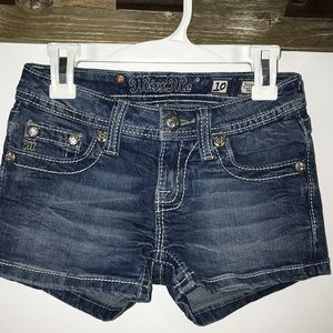 Girls Sz 10 Denim Shorts